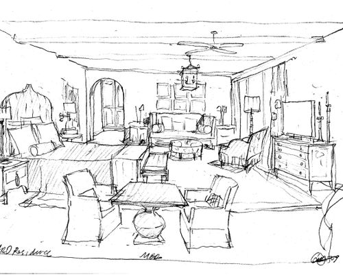 Creative design furniture san gabriel california home for Bedroom designs sketch